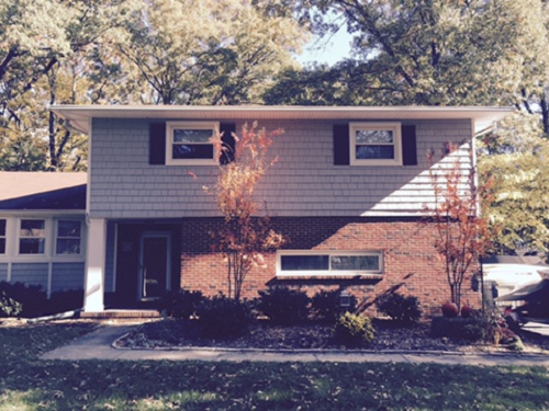 Exterior painting by CertaPro house painters in Severna Park, MD