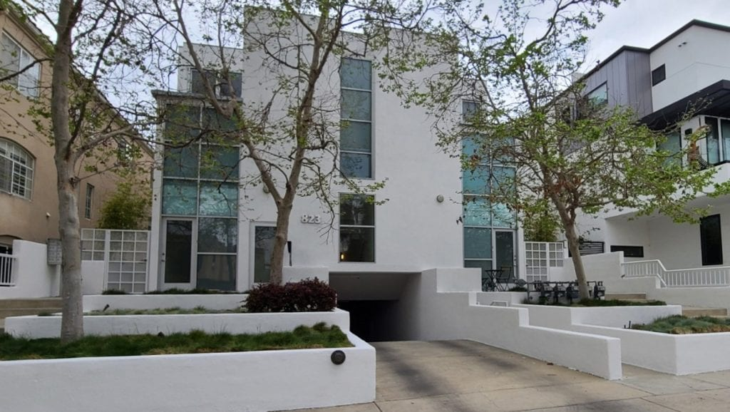 After the commercial painting was completed in West Hollywood by CertaPro of Sherman Oaks.