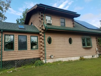 Exterior house painting by CertaPro painters in Blackstone, MA