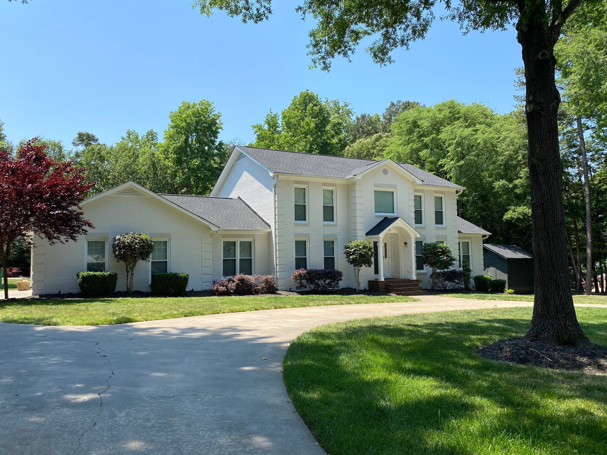 Providence Plantation Exterior Painting After