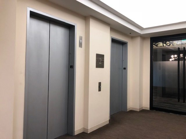 Commercial Elevator Painting