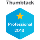 Thumbtack Professional 2013 Badge