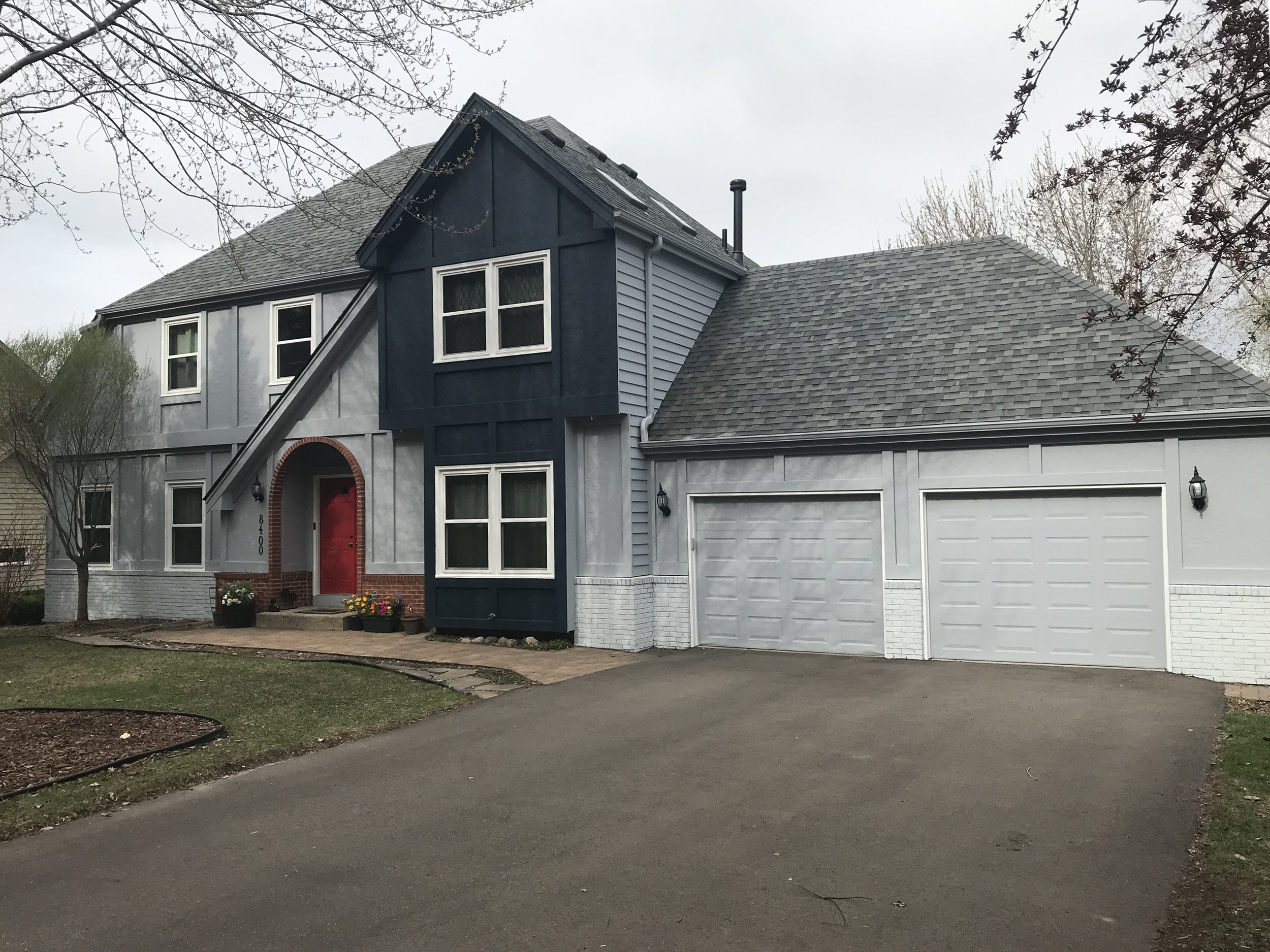 Residential Exterior Painting After