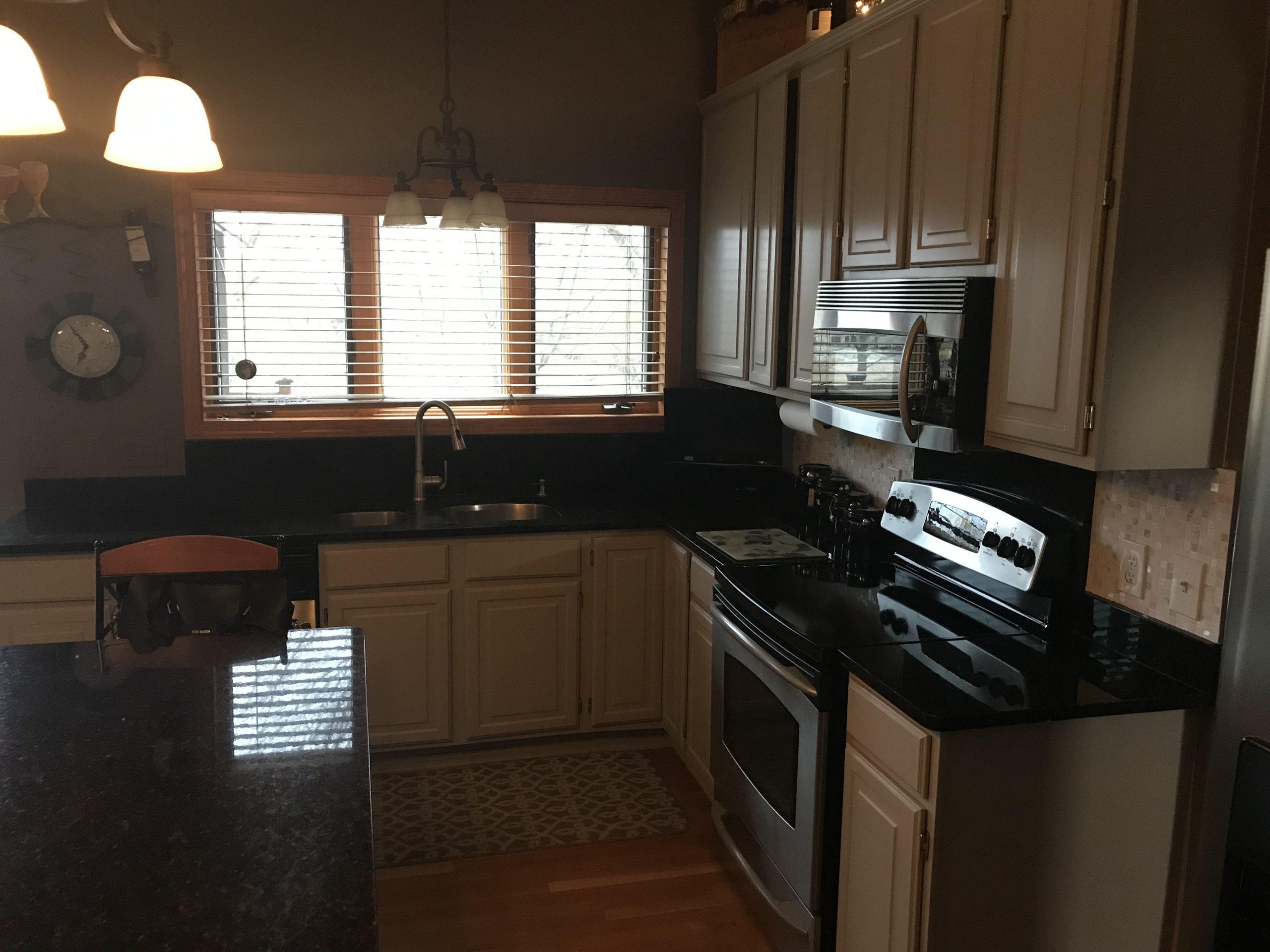 Residential Interior Cabinet Painting Project After