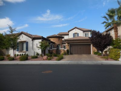 Exterior painting by CertaPro house painters in Summerlin, NV