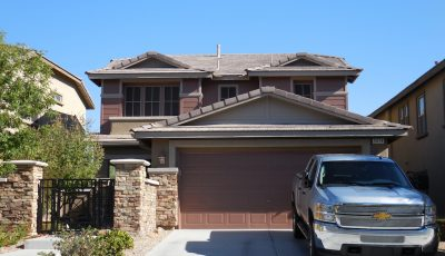 Exterior painting by CertaPro house painters in Rde Rock, NV