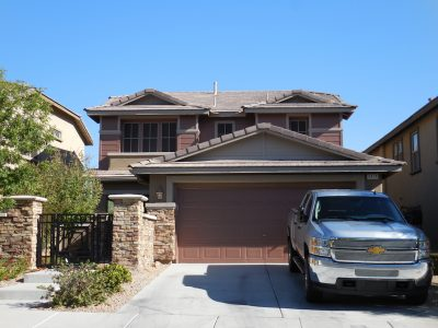 Exterior painting by CertaPro house painters in Red Rock, NV