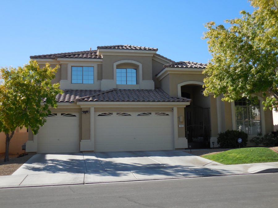 Exterior painting by CertaPro house painters in Las Vegas, NV