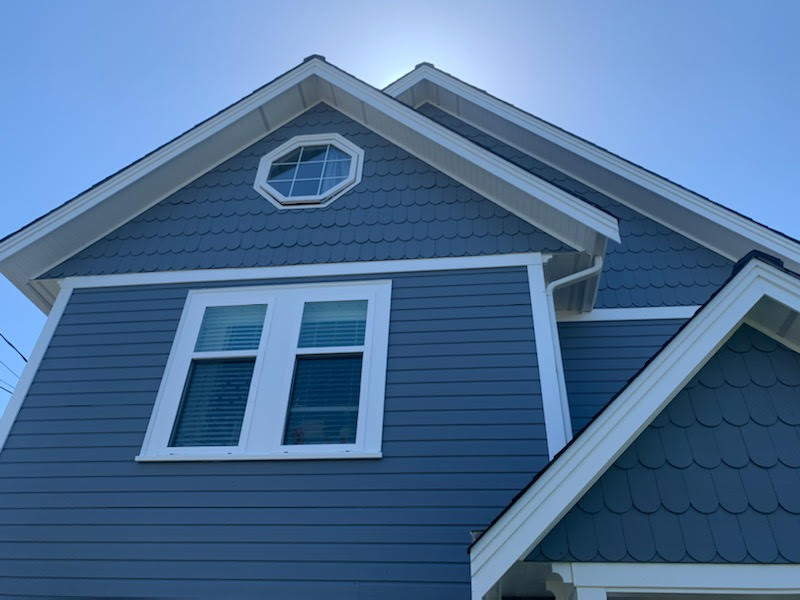 painting project in Stevson, British Columbia