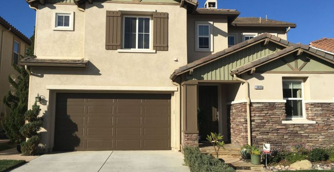 Exterior painting by CertaPro house painters in Thousand Oaks, CA