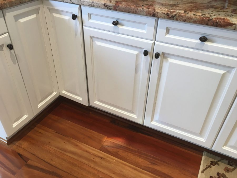Interior cabinet painting by CertaPro house painters in Newbury Park, CA