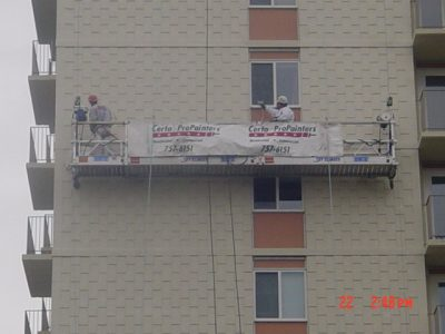 Commercial Hospitality painting by CertaPro Painters of Toronto, ON