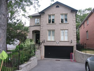 Exterior house painting by CertaPro painters in Bedford Park/North Toronto