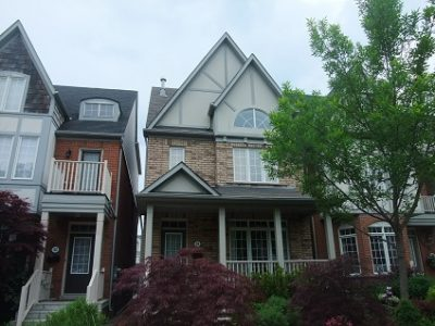 Exterior painting by CertaPro house painters in Toronto & The Beach Areas