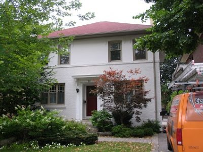 Exterior house painting by CertaPro painters in Toronto & The Beach Areas