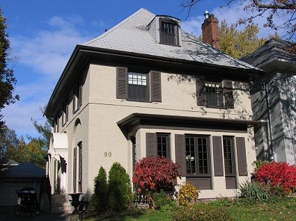 Exterior house painting by CertaPro painters in Rosedale and Moore Park