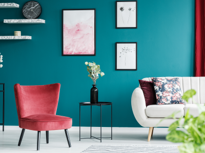 painted living room by certapro