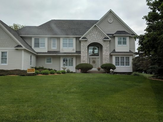 Finished home in Woodbury
