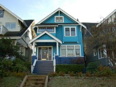 Exterior house painting in Kitsilano, BC by CertaPro Painters of Vancouver