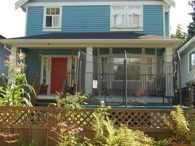 Exterior house painting in Mount Pleasant, BC by CertaPro Painters of Vancouver