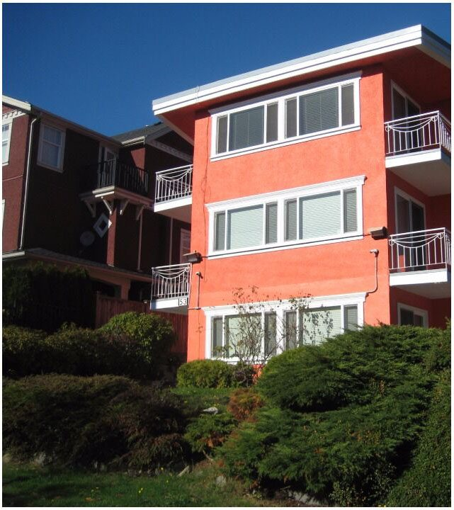 Exterior Commercial Apartment painting by CertaPro Painters in Kerrisdale, BC
