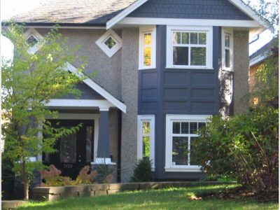 Exterior painting by CertaPro house painters in Dunbar, BC