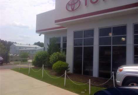 Toyota Dealership Commercial Exterior