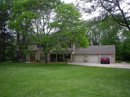 Exterior painting by CertaPro house painters in Brookfield, WI