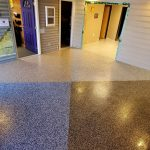 Our garage floor finishes showroom