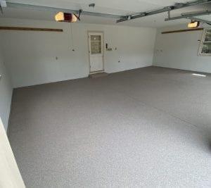 Garage floor coating in waukesha county