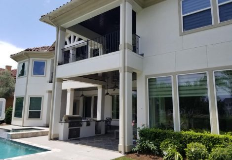 Houston Exterior House Painting Project