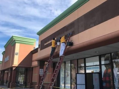 shopping center commercial painting westchester ny