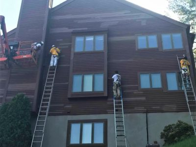 ossining ny commercial exterior painting