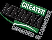 greater medina chamber of commerce badge