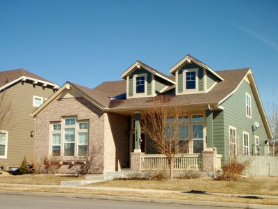 Exterior house painting by CertaPro painters in Broomfield, CO