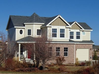 Exterior painting by CertaPro house painters in Brighton, CO