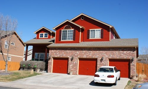 Red Exterior Painting