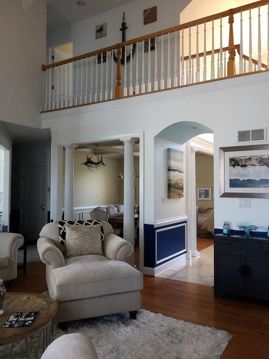 Rehoboth Beach, DE - Living Room Painting