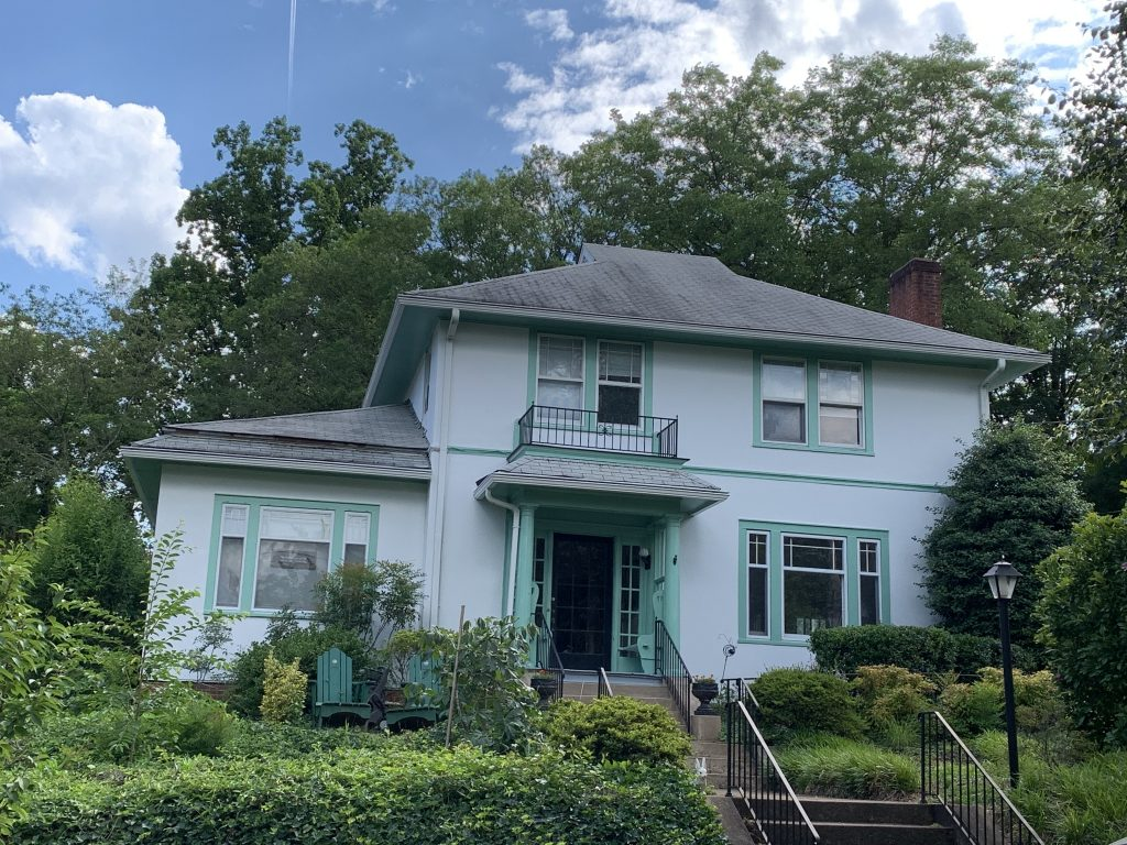 Exterior Painting including Trim, Soffits, Porch, and Deck After