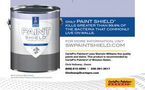 Paint Shield Logo