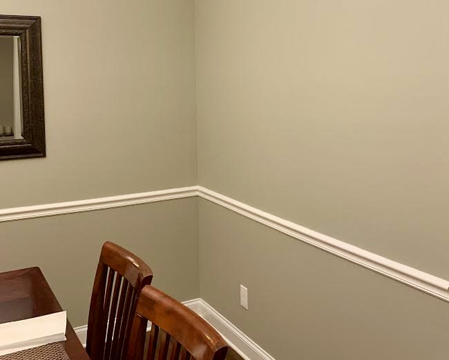 Residential Dining Room Crown Molding Services in Winston-Salem, NC