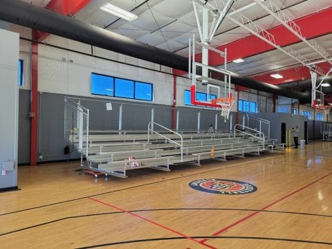 CP3 Basketball Academy Interior Painting