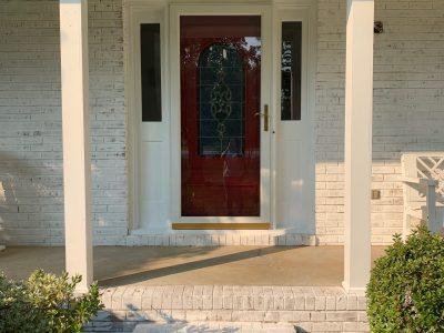 Limewash Brick Exterior Winston-Salem, NC