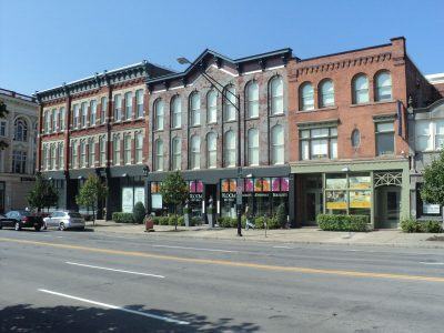 Commercial Retail painting by CertaPro Painters in Buffalo, NY