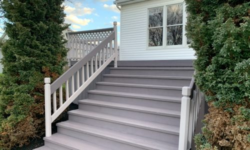 2 Tone Deck Stain