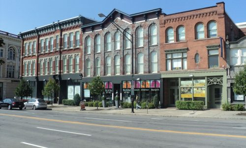 Downtown Retail Exterior Painting Project