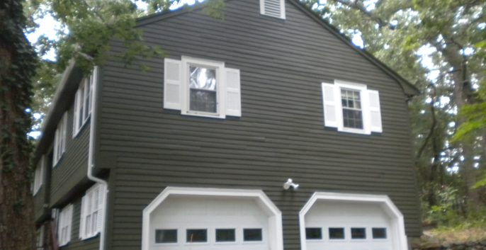 Exterior House Painting in Bedford