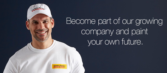 Become part of our growing company and paint your own future