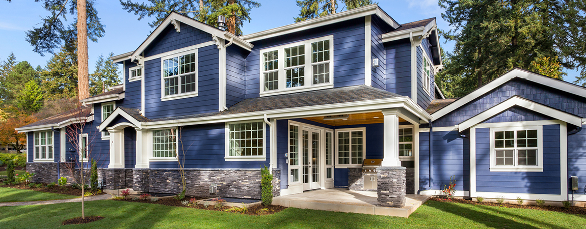 The Best Blue Hues for the Exterior of Your Home