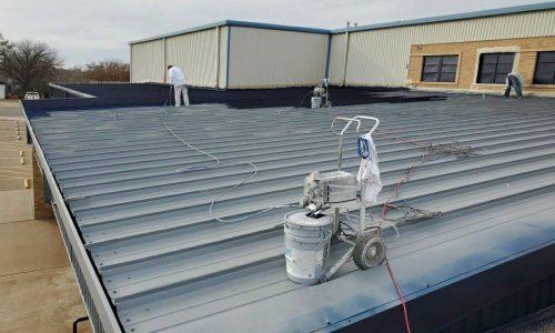 Roof in Progress